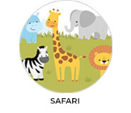 Safari Theme Personalised Baby Shower Favours
