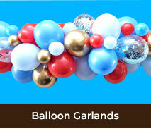 Balloon Garlands For Kids Birthday Parties