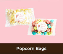 Personalised Popcorn Bags For Bridal Showers