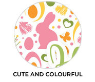 Cute And Colourful Personalised Easter Chocolates