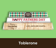 Father's Day Toblerone Bars