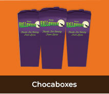 Personalised Chocabox Favour Boxes For Halloween