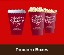 Personalised Popcorn Boxes For Valentines Day