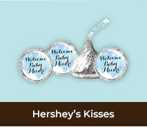 Personalised Birth Announcement Hershey's Kisses