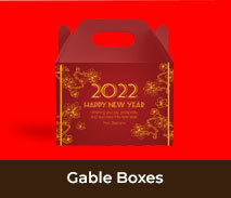 Personalised Gable Boxes For Chinese New Year