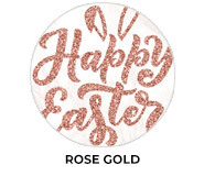 Rose Gold Personalised Easter Chocolates