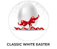 Classic White Personalised Easter Chocolates