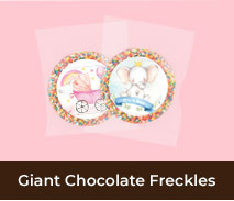 Giant Freckles For Gender Reveal Parties