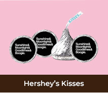 Personalised Hershey's Kisses For Hens Nights