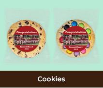 Personalised Cookies For School Graduations