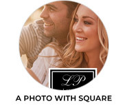 A Photo With Square Wedding Theme Favours