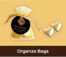 Custom Organza Bags For Wedding Anniversaries