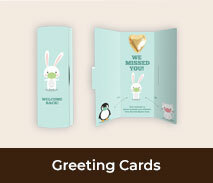 Welcome Back Chocolate Greeting Cards