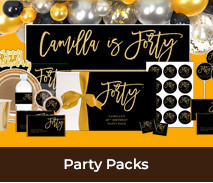 Party Packs For Adult Birthdays