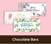 Bridal Shower And Kitchen Tea Chocolate Bars