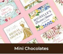 Kitchen Tea And Bridal Shower Mini Chocolates