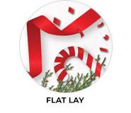 Flat Lay Theme Custom Christmas Favours