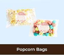 Personalised Popcorn Bags For First Holy Communion