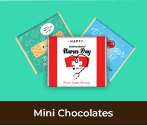 International Nurses Day Mini Chocolates