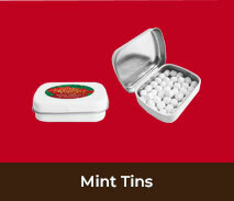 Personalised Christmas Mint Tins