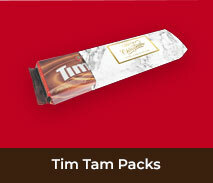 Personalised Christmas Packs Of Tim Tams