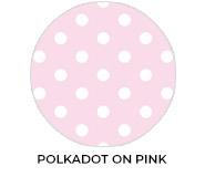 Polkadot Pink Custom Baby Shower Favours