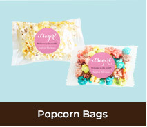 Popcorn Bags For Birth Announcements
