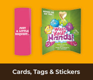 Cards, Tags And Stickers