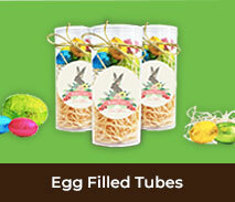 Personalised Easter Egg Tubes