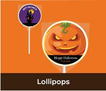 Personalised Halloween Lollipops