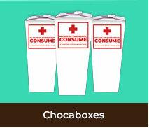 Personalised International Nurses Day Chocaboxes