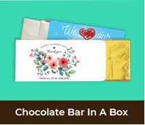 Custom Nurse Appreciation Chocolate Bar Boxes