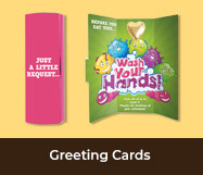Health And Hygiene Chocolate Greeting Cards
