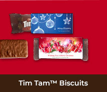 Personalised Individual TimTams TM For Christmas