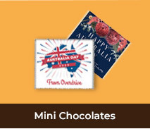 Personalised Australia Day Mini Chocolates