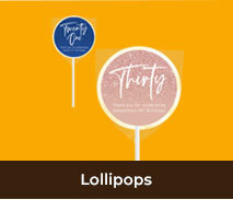 Custom Lollipops For Adult Birthdays