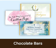 First Holy Communion Chocolate Bars