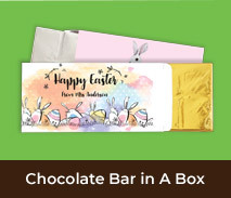 Easter Chocolate Bars In A Box