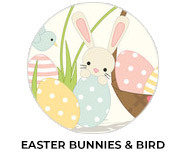 Easter Bunny And Birds Personalised Chocolates