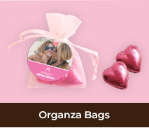 Chocolate Organza Bags For Hens Parties