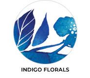 Indigo Flowers Wedding Favours
