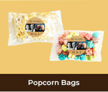Personalised Popcorn Bags For Annviersary Parties