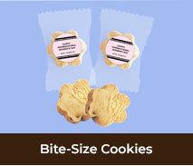 International Womens Day Bite-Size Cookies