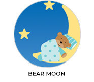 Bear Moon Theme Custom Baby Shower Favours