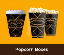 Personalised Popcorn Boxes For Parties