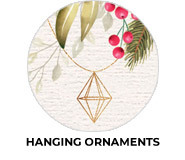 Hanging Ornaments Theme Custom Christmas Favours