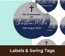 Custom Confirmation Labels And Swing Tags