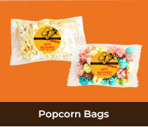 Personalised Popcorn Bags For Halloween