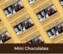 Wedding Anniversary Mini Chocolates