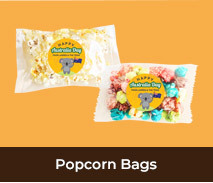 Personalised Popcorn Bags For Australia Day